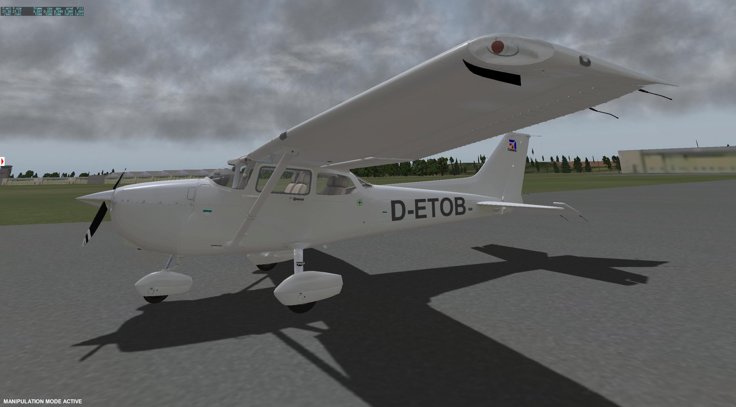 Cessna 172 Skyhawk – Repaint