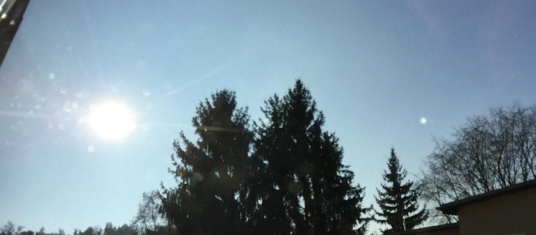 Schönes Wetter und nicht fliegen?